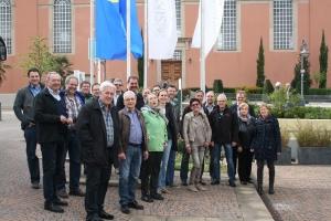 Teilnehmer der Klausurtagung in Bad Dürkheim (nicht vollzählig, war ein spontaner Fototermin)